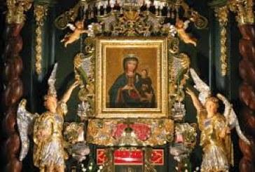 Program Uroczystości Złotego Jubileuszu Koronacji łaskami słynącego obrazu Matki Bożej Rychwałdzkiej 19.07.2015 Rychwałd