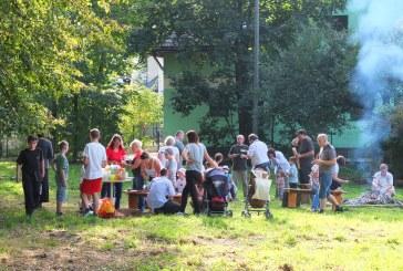 Diecezjalne spotkanie rodzin przy ognisku w Jeleśni 13 września 2015 r.