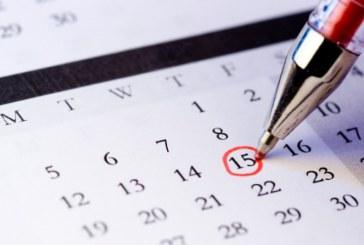 Kalendarium 2016