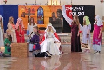 Obchody  rocznicy 1050-lecia Chrztu Polski w parafii w Mesznej